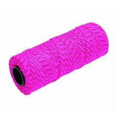 "Marshalltown Bonded Mason's Line 500' Pink and Black, Size 18 6"" Core - ML615"