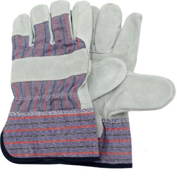 Big Mikes Leather Palm Rigger Glove - One Size