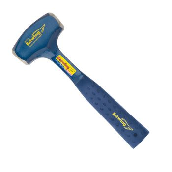 Estwing Drilling Club Hammer 4lbs - Blue Nylon Grip - EB34LB