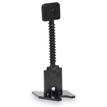 """Marshalltown 3.0mm (1/8"""") Black - T Spacer Bases - BAG OF 50"""