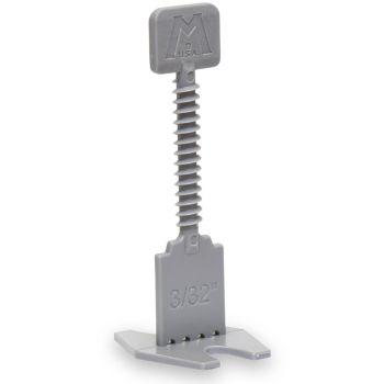 """Marshalltown 2.5mm (3/32"""") Grey - Straight Spacer Bases - BAG OF 250"""