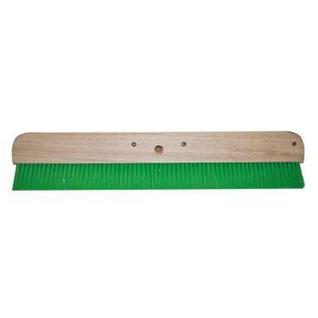 "Marshalltown Green Nylon Concrete Broom 24"""