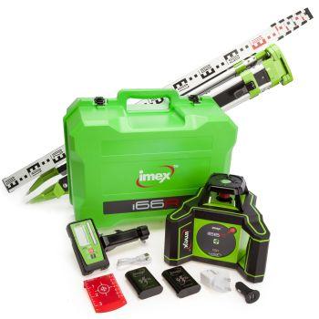Imex i66R Rotating Laser - New Series - LRX6 - Kit - 012-I66RX6-KIT - 012-I66RX6-KIT