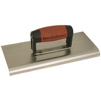 "Marshalltown 10 X 4 Stainless Steel  Edger-1/2"" Radius - DuraSoft Handle - M192SSD"