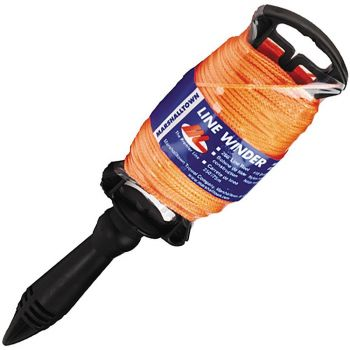 Marshalltown 250' Braided Nylon Mason's Line - Orange - M634