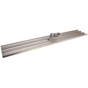 """Marshalltown 48"""" x 8"""" Magnesium Bull Float - Square End with Bracket - Blade Only - MB48"""