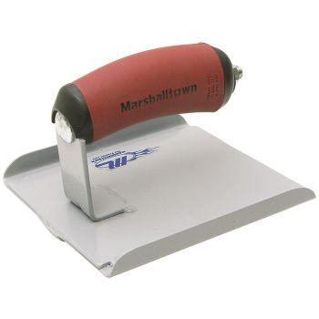 Marshalltown 6 X 6 Steel Groover - DuraSoft Handle; 1/2D, 1/4R - M4038D