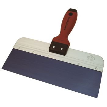"Marshalltown Blue Steel Taping Knife 12"" x 3"" - DuraSoft Handle - M3512D"