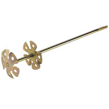 """Marshalltown Jiffler Mixer - 3 1/2"""" Wheels - M893"""