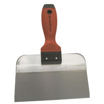 "Marshalltown Stainless Steel Taping Knife 12"" x 2¼"" Stubby - DuraSoft Handle - M3512SDN"