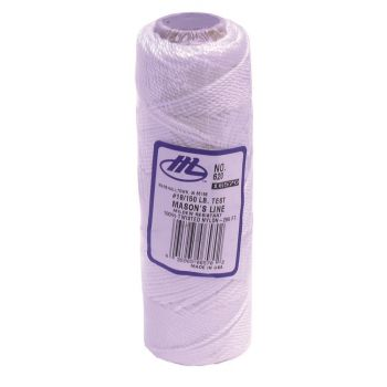 Marshalltown Twisted Nylon Mason's Line 285' White