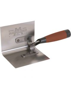Marshalltown 5 X 3 1/2 Bullnose In Side Corner Trowel - DuraSoft Handle - M51D