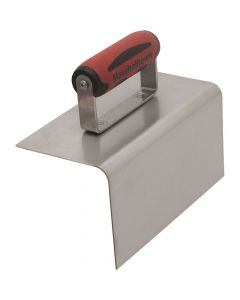 Marshalltown 8 X 4 Stainless Steel 90° Nose Step tool - DuraSoft Handle - M171SSD