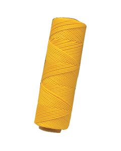 "Marshalltown Twisted Nylon Mason's Line 285' Yellow, Size 18 6"" Core - M621"