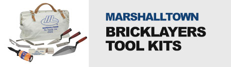 Marshalltown Bricklayers Tool kit
