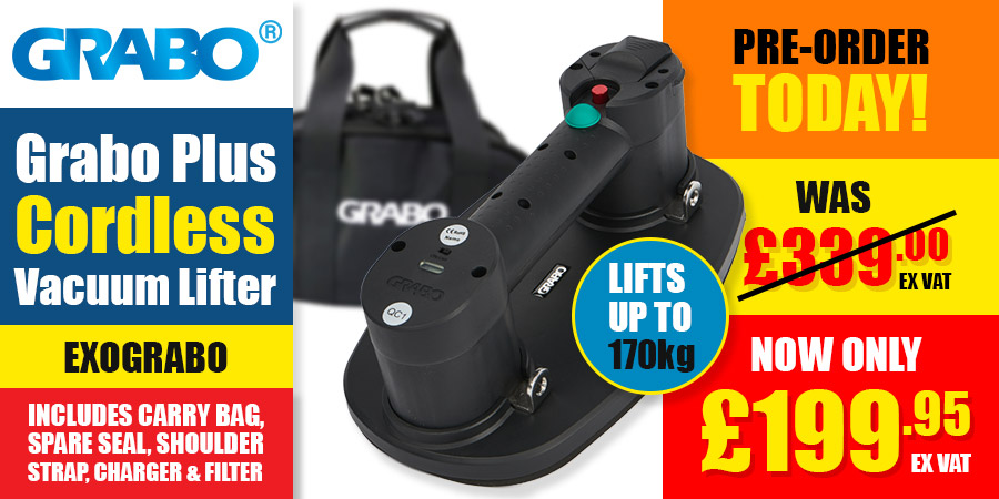 Pre-Order - Grabo Plus Cordless Vacuum Lifter!