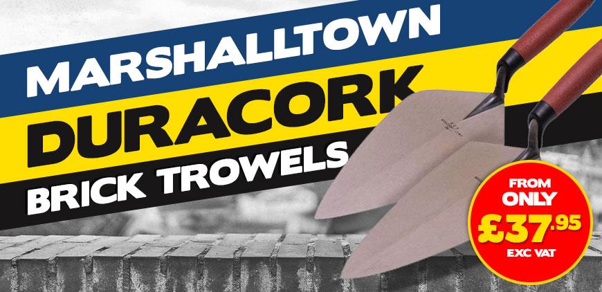 Marshalltown Duracork Brick Trowel Deals