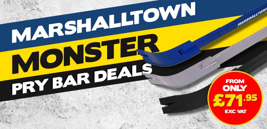 Marshalltown Monster Pry Bar Deals